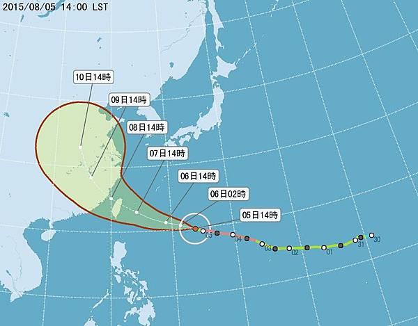 20150805蘇迪勒颱風