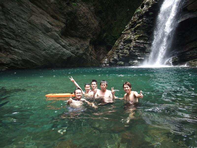 [2011南澳‧找夏天] 澳花瀑布 難以告別的天堂時光