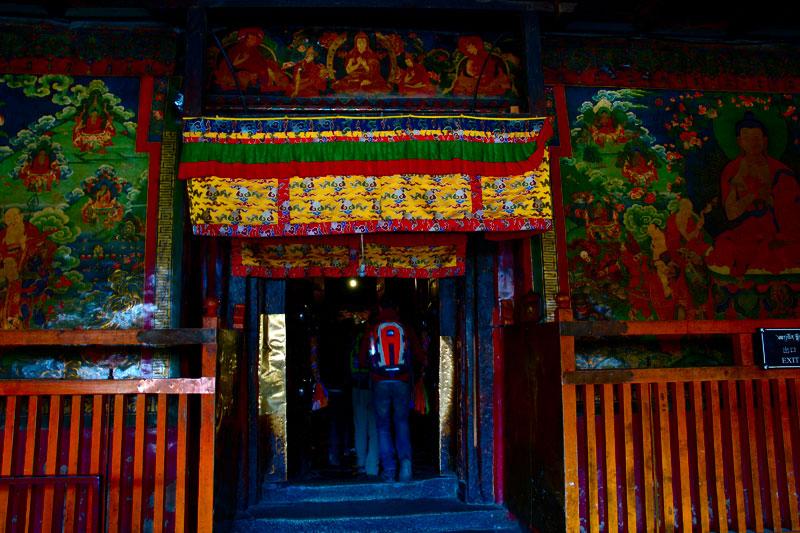 大昭寺大殿的門