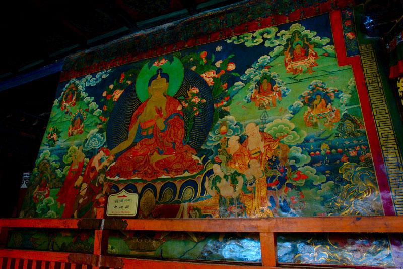 大昭寺壁畫