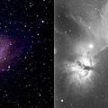 銀河系和人馬座星雲