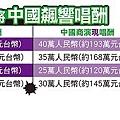 台灣4大唱將中國飆響唱酬