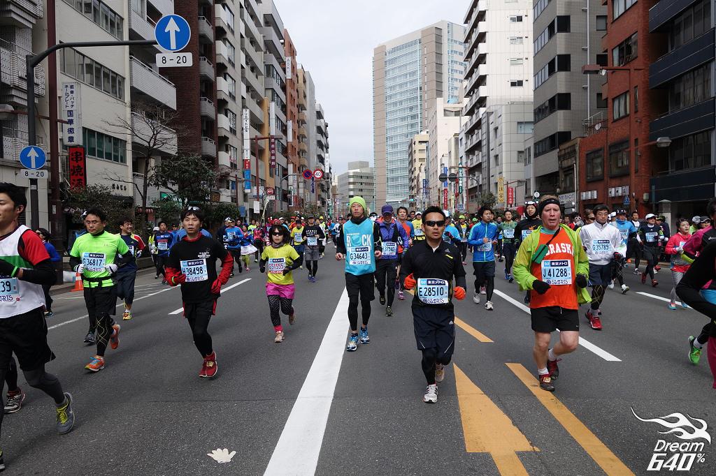[2014東京馬拉松] 令人致敬的高品質賽事!反觀台灣輸在細節?