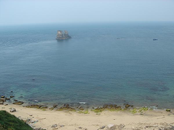 淨白的神秘沙灘 和 雙嶼