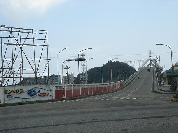 往南方澳的 跨海大橋