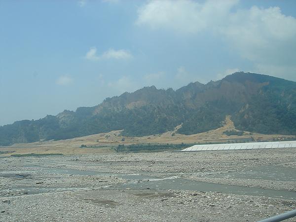 苗栗的火炎山