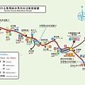 2009太魯閣峽谷馬拉松活動路線圖