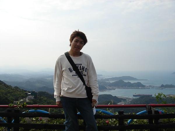 與藍色海景