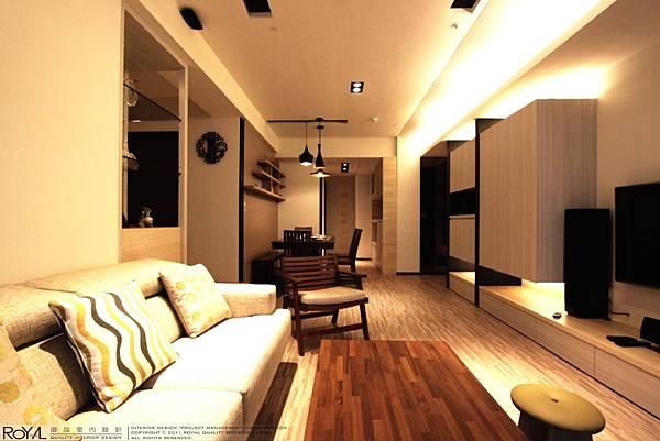 御品室內設計(02)2935-1111 北歐鄉村風-丰悅夏宮