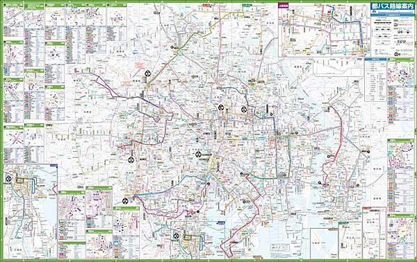 東京都營巴士路線圖