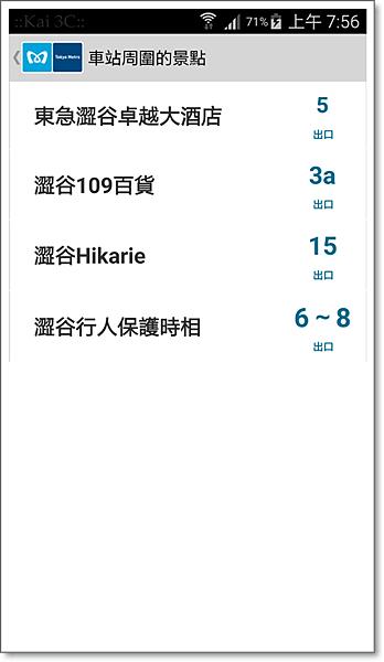 東京地鐵遊客乘車指南-5