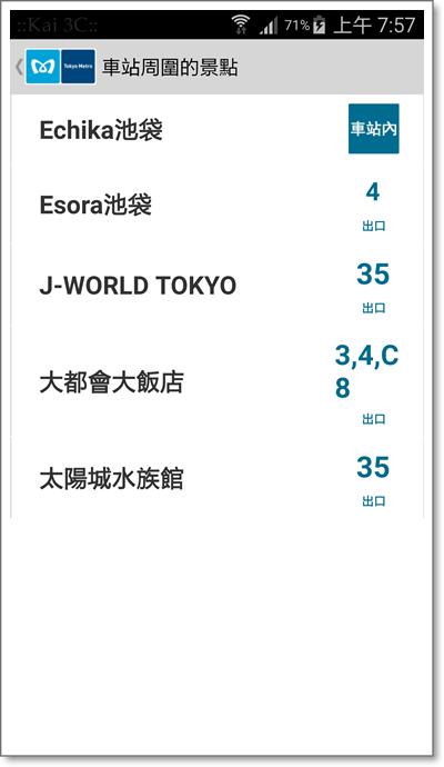 東京地鐵遊客乘車指南-4