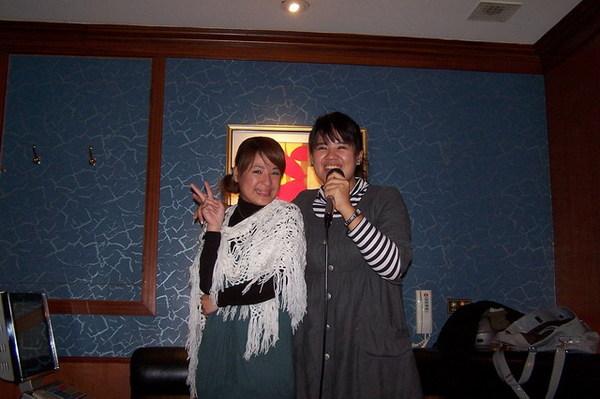 第一次跟王哈哈唱歌