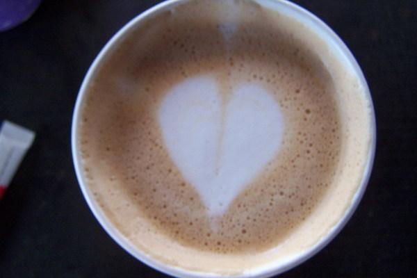 吃完冰 喝熱咖啡