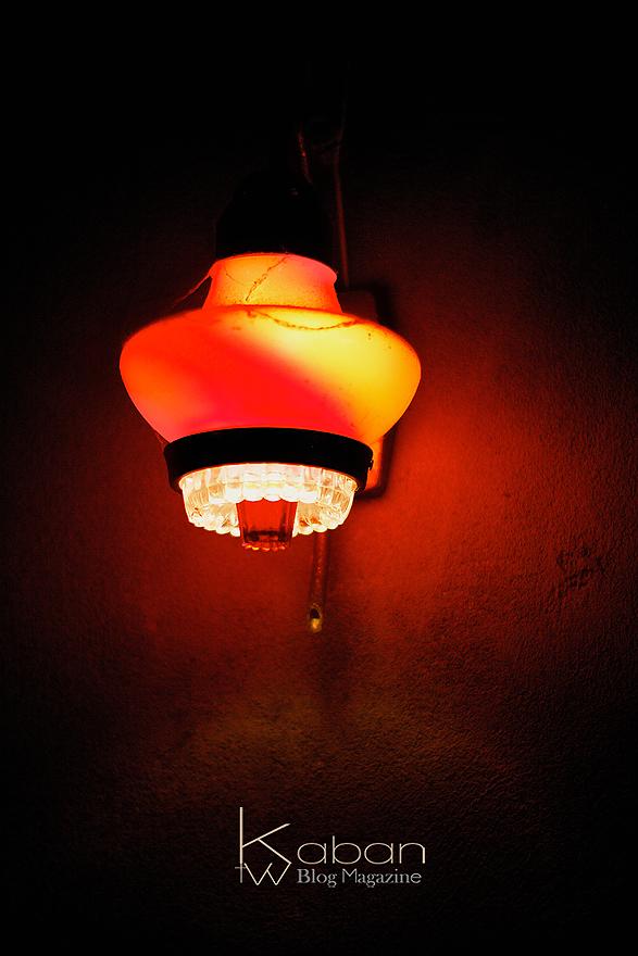 牆上的那盞燈