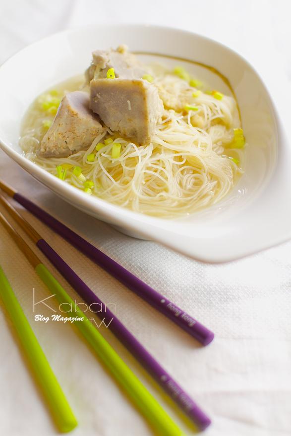 芋頭米粉 Taros with rice noodles