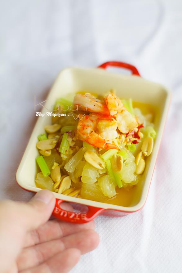泰式柚子沙拉 Pomelo salad