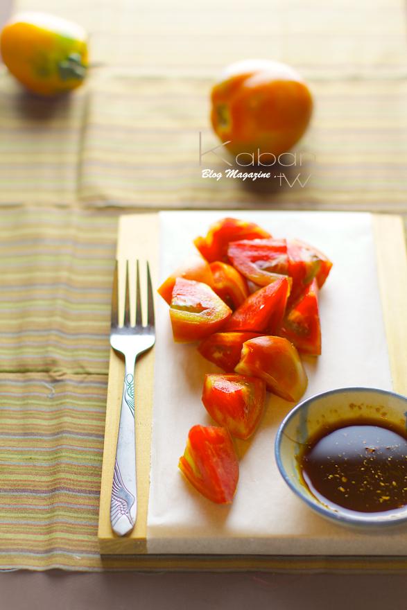 薑汁醬油蕃茄