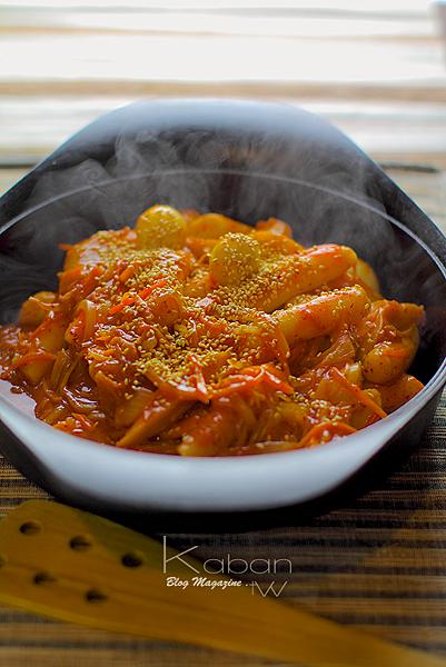 辣炒年糕 Spicy rice cake strings(Duk Bokki)