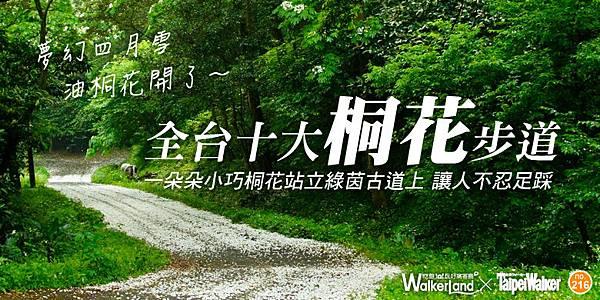 十大桐花步道