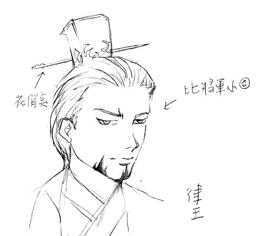 """""""黑血""""主角-律王"""