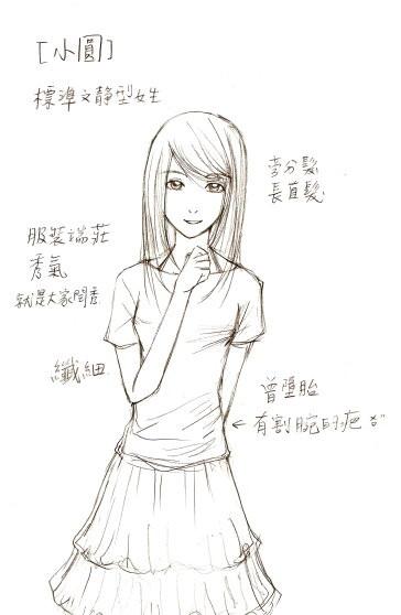 女主角草稿