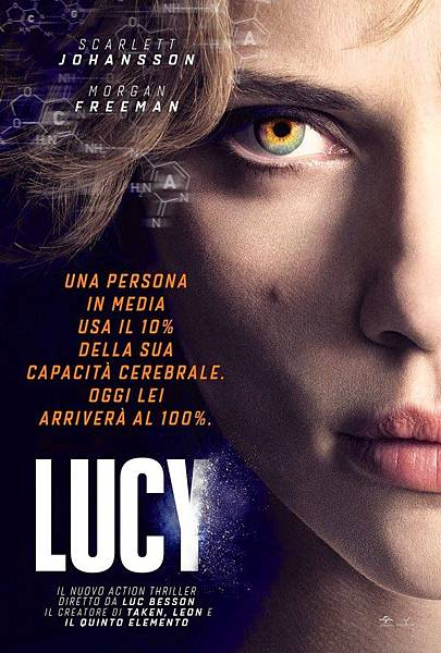 Lucy Movie New Film Poster 2014