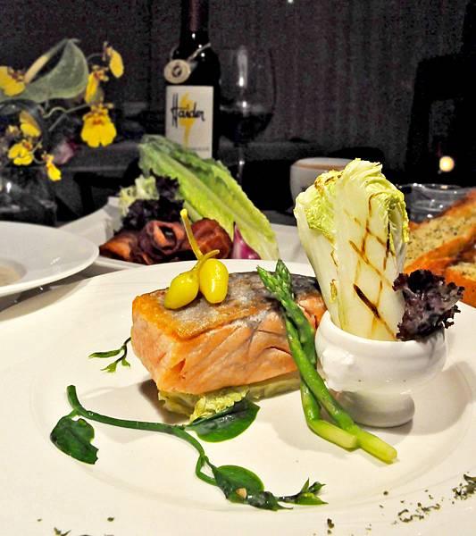 香煎白波特野鮭魚