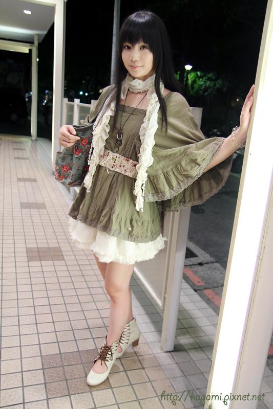 綠色系 日系甜美風