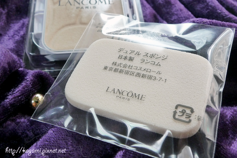 LANCÔME 蘭蔻 光感奇蹟保濕水粉餅 SPF20 PA++: http://kagami.pixnet.net/blog/post/29802963