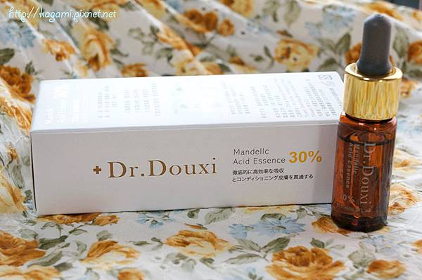 Dr. Douxi 杏仁酸精華液30%: http://kagami.pixnet.net/blog/post/30833790