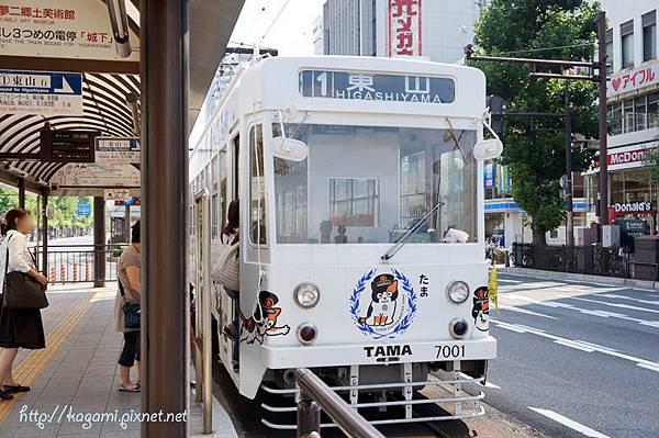 岡山電軌東山線 たま電車: