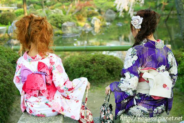 "<a href=""http://kagami.pixnet.net/blog/post/26561160"">和服體驗</a>:小娃 & Mei"