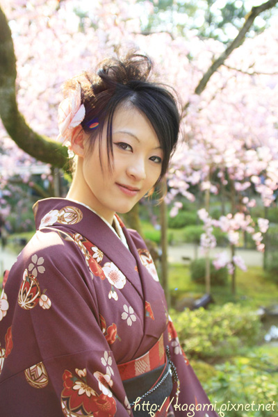 "<a href=""http://kagami.pixnet.net/blog/post/26561160"">和服體驗</a>:Yuki"