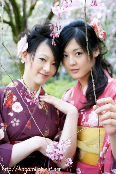 "<a href=""http://kagami.pixnet.net/blog/post/26561160"">和服體驗</a>:Yuki & Linko"