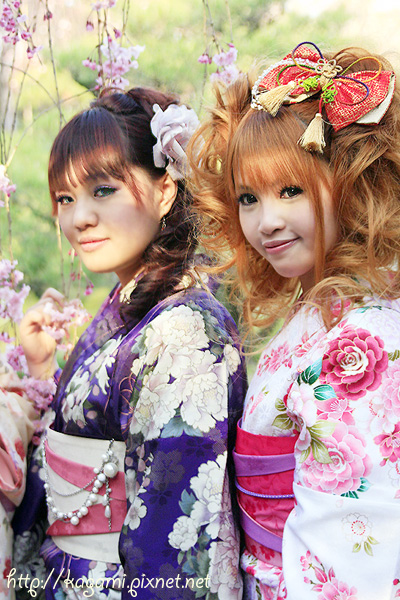 "<a href=""http://kagami.pixnet.net/blog/post/26561160"">和服體驗</a>:Mei & 小娃"