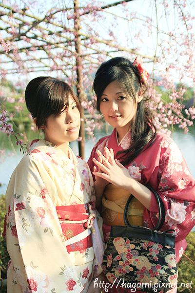 "<a href=""http://kagami.pixnet.net/blog/post/26561160"">和服體驗</a>:小寧 & Linko"