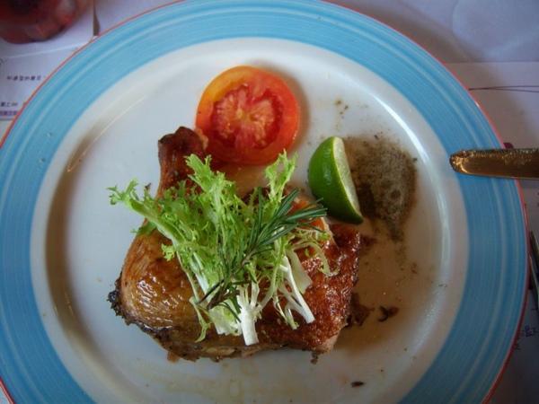 主菜-薰衣草蜜汁嫩雞