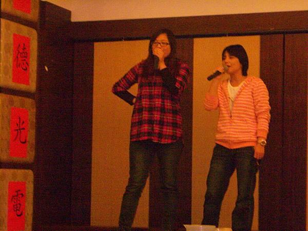 QC的代表-歌后麗貞、美玲