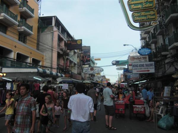 Khaosan路(觀光客街)