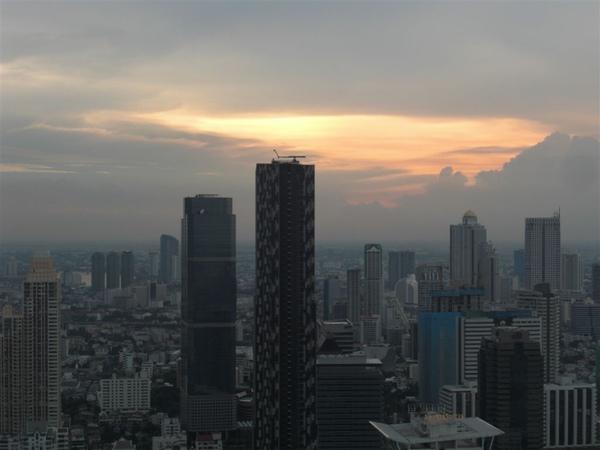 曼谷的黃昏