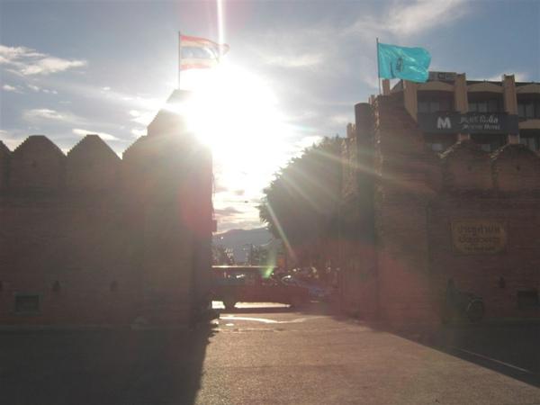 清邁古城門