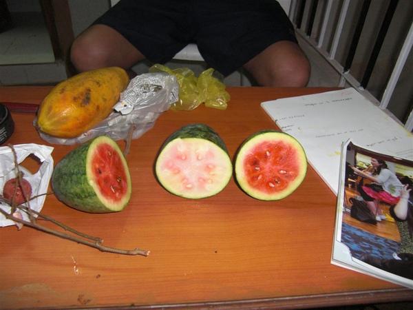 印度小西瓜(還是台灣水果好)