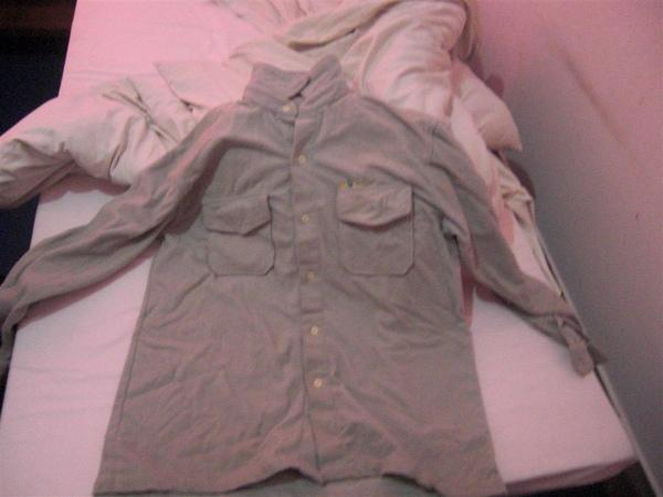 發現Ramon家的僕人偷偷幫我折好衣服