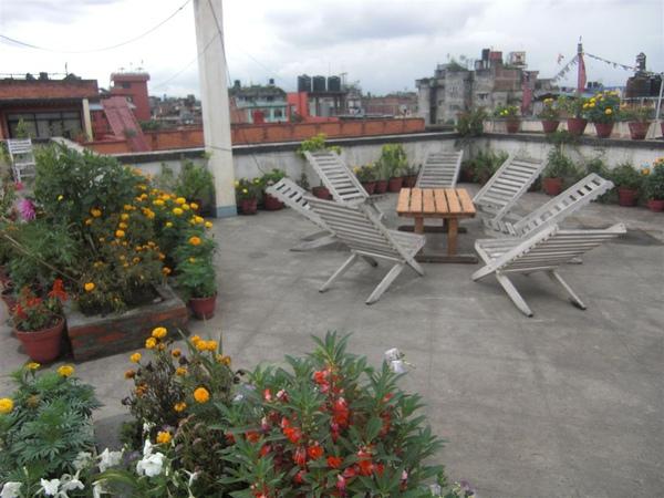 屋頂還有花園