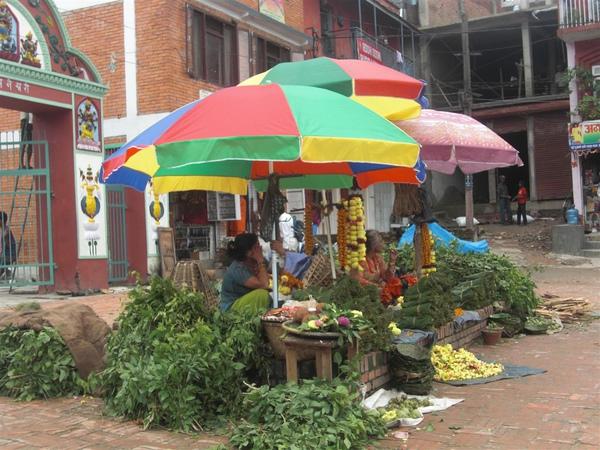 尼泊爾水果攤