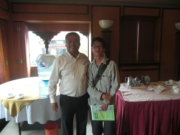 Anil Chitrakar與我