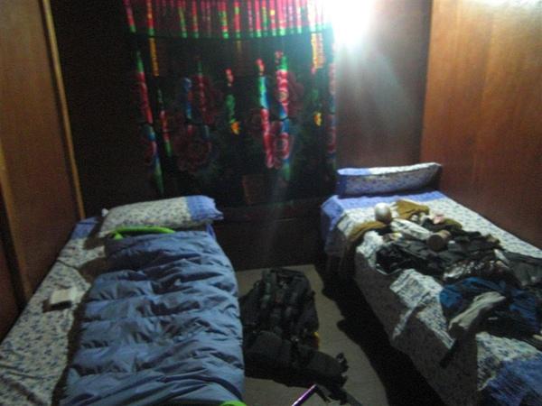 夜裡的房間