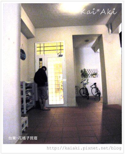 201002台東-花格子-門口