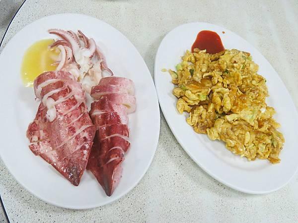 花枝和海膽炒蛋